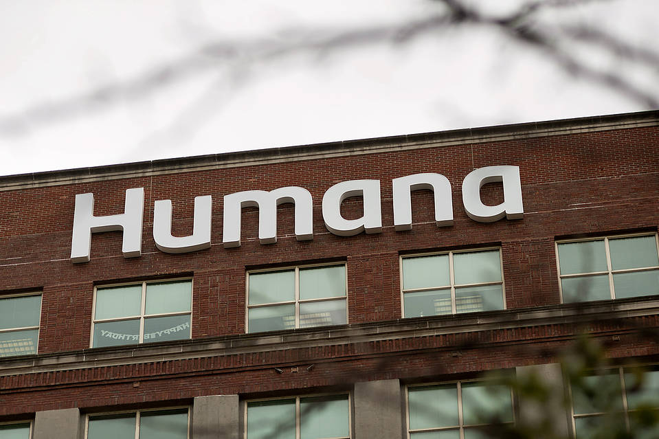 Humana, which has more than 14 million customers, has received indications of takeover interest and is working with advisers at Goldman Sachs