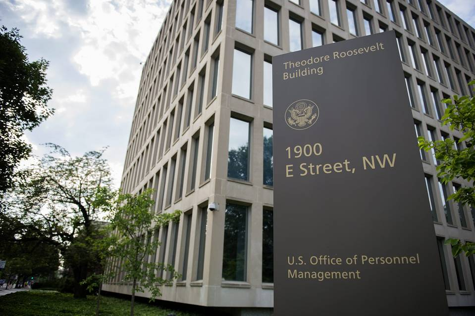 The Office of Personnel Management (OPM) building in Washington, DC.