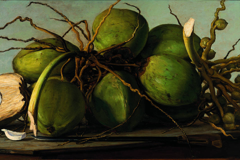 'Still Life With Coconuts' (c. 1893), by Francisco Oller.