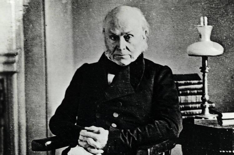 John Quincy Adams circa 1847.