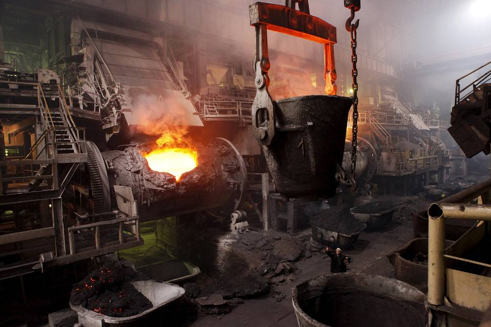 A Norilsk Nickel plant in Norilsk, Russia. The company will pay a semiannual interest rate of around 7% on a bond that would come due in October 2022.