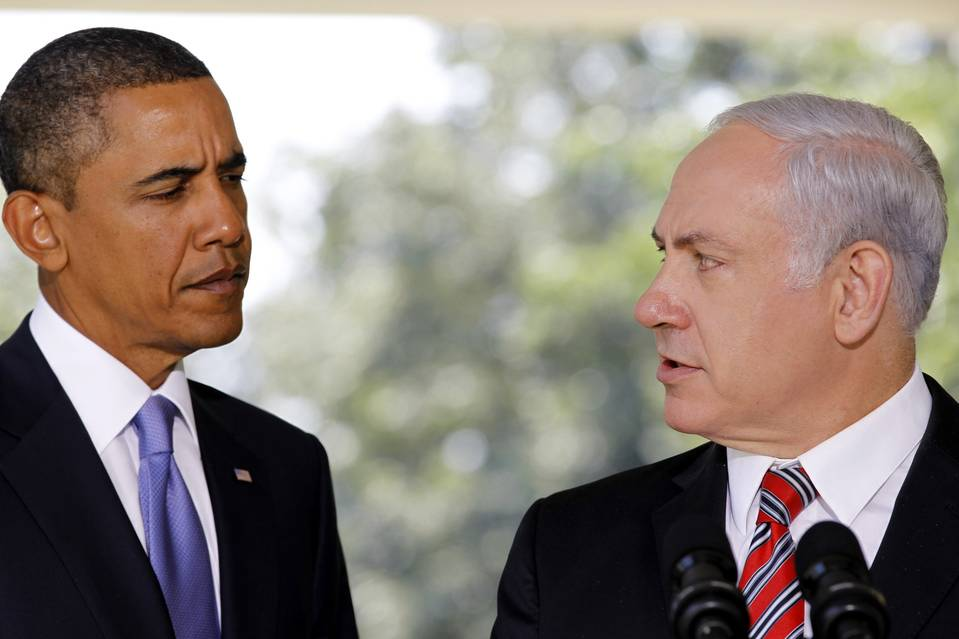 President Barack Obama and Israeli Prime Minister Benjamin Netanyahu appeared at a news conference at the White House on Sept. 10, 2010, a time when both countries began to split over the best means to keep Iran from an atomic bomb.