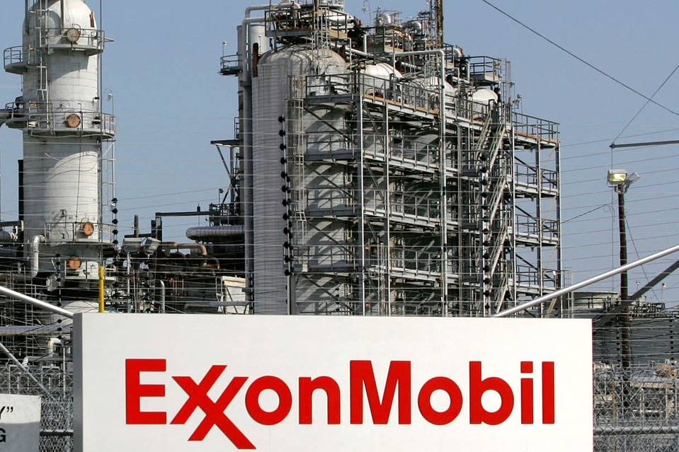 The Exxon Mobil refinery in Baytown, Texas on September 15, 2008.