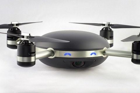 The Lily drone, delayed until later in 2016, is designed to be waterproof and able to follow you around.