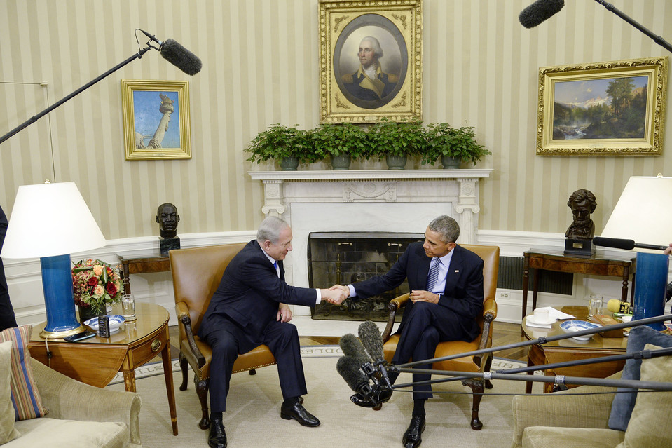 Prime Minister Benjamin Netanyahu joined President Barack Obama last month for a meeting in the Oval Office of the White House.