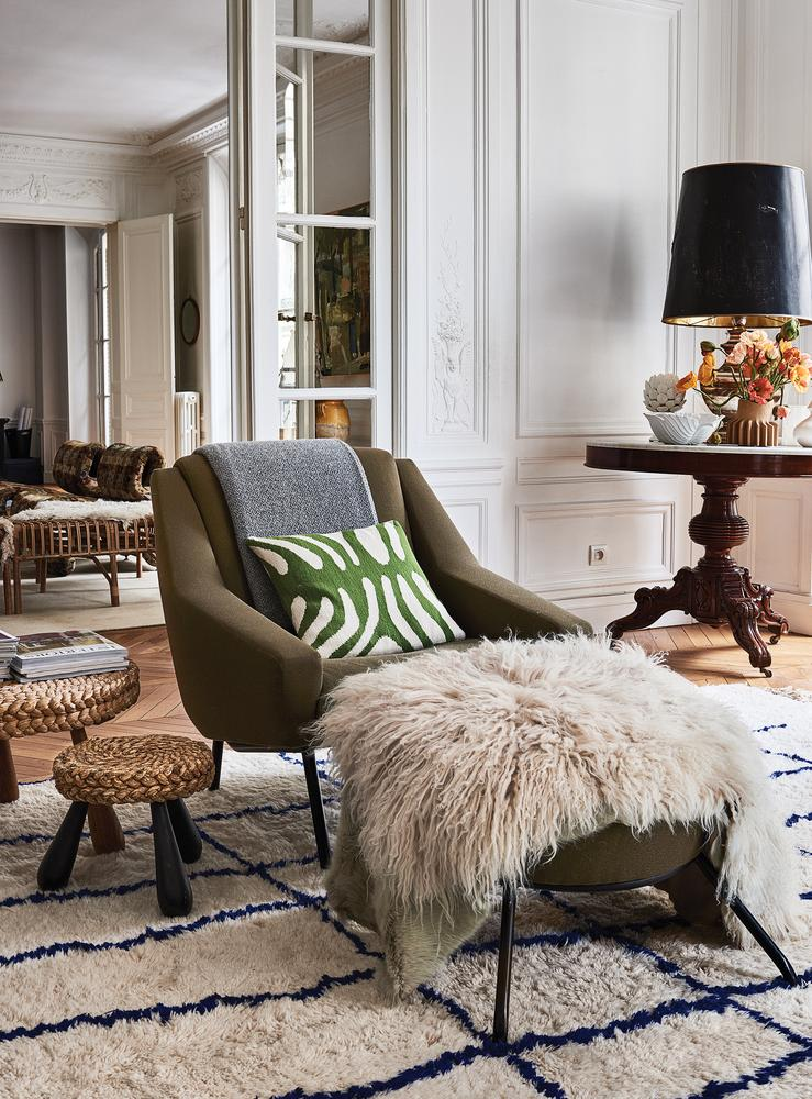 a chair for my mother white slip covered dining room chairs designing beyond chloé: inside clare waight keller's parisian home - wsj