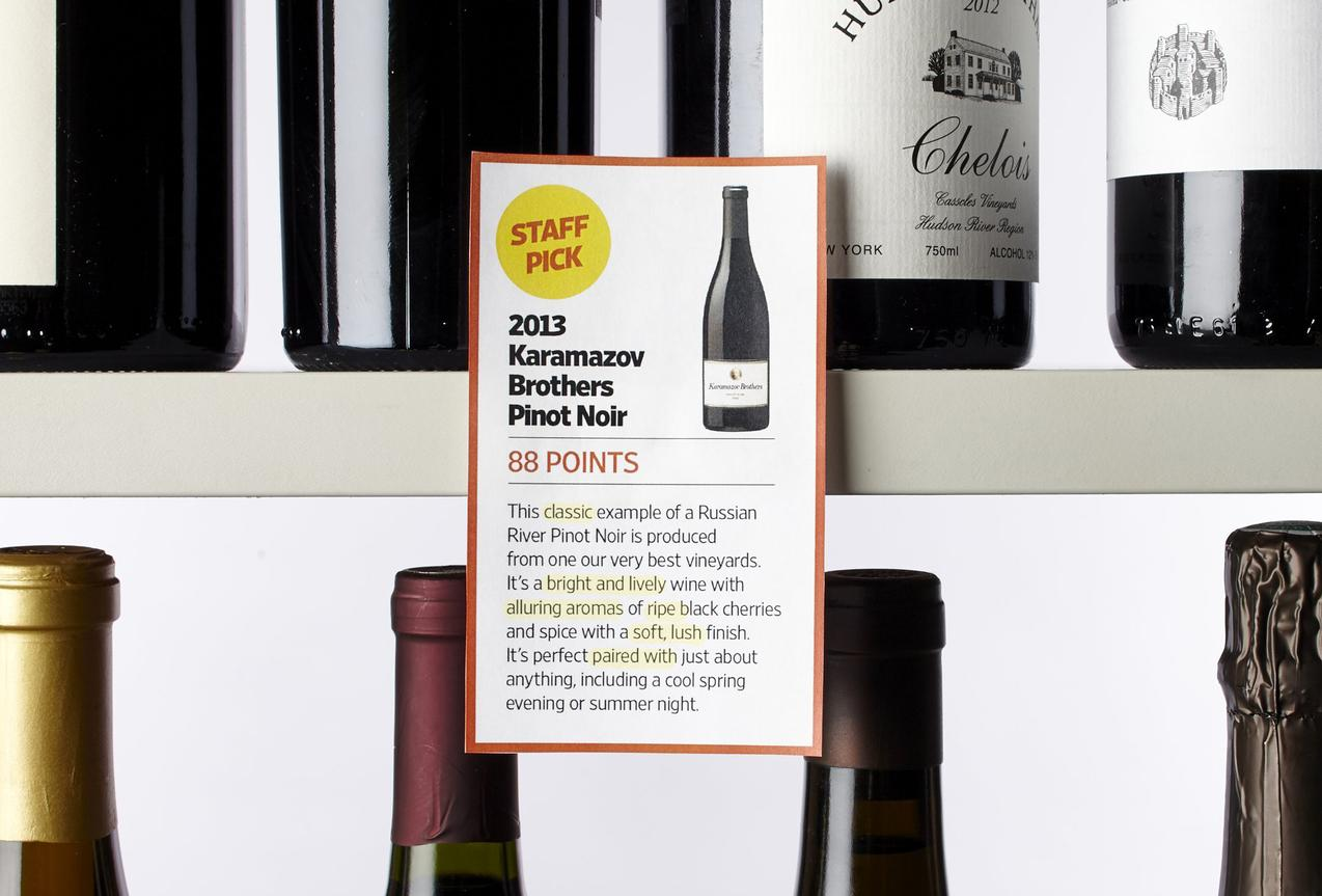 Decoding Shelf Talkers A Wine Buyer S Guide Wsj