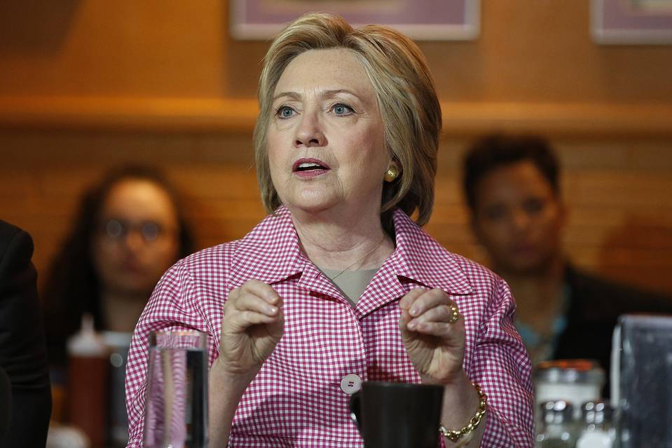 Hillary Clinton, shown in Oakland, Calif., on Friday, is expected soon to be interview by FBI investigators seeking to learn whether classified materials were mishandled in her private email system.