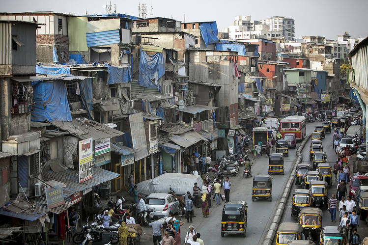 In Pictures Mumbais Slums Rise Up Amid Space Shortage