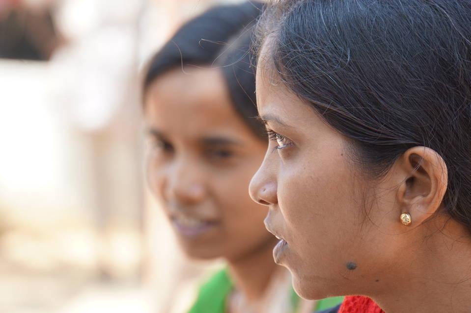 Bhagwati Kumari Mahawar in the village of Habibwala, in Rajastan, India, Sept. 28, 2016.