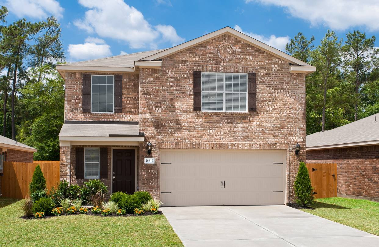 A Colorado Style Floor Plan In The Houston Area Sold By Lgi Homes.
