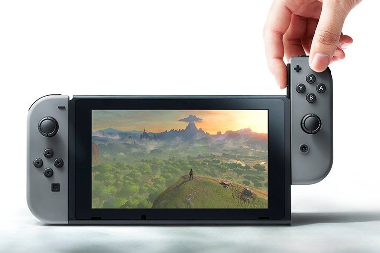 The Nintendo Switch hybrid gaming device is expected to be released in 2017.