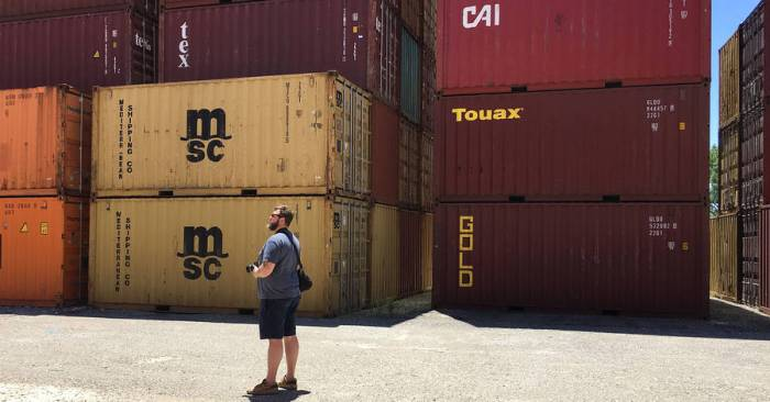 Charles Fox hunts for 'unicorn' containers in Indianapolis.