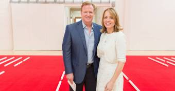 Roger Goodell Has a Secret Defender on Twitter: His Wife