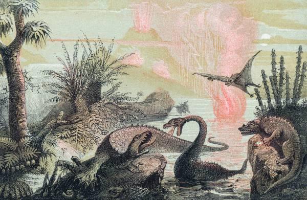 Dinosaur Fantastic Art