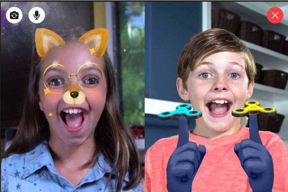 Image result for Facebook Launches A Version Of Messenger For Kids