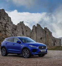 jaguar s girthy new e pace the brand s first compact crossover has more in common with its land rover cousins than the brand s sleek roadsters  [ 1242 x 810 Pixel ]