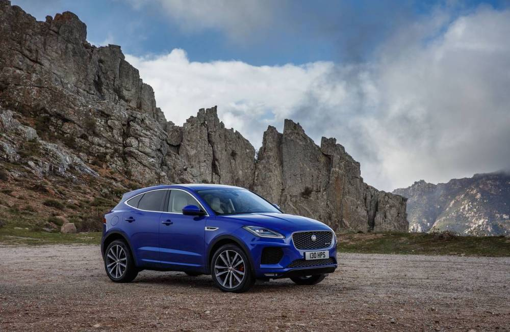 medium resolution of jaguar s girthy new e pace the brand s first compact crossover has more in common with its land rover cousins than the brand s sleek roadsters