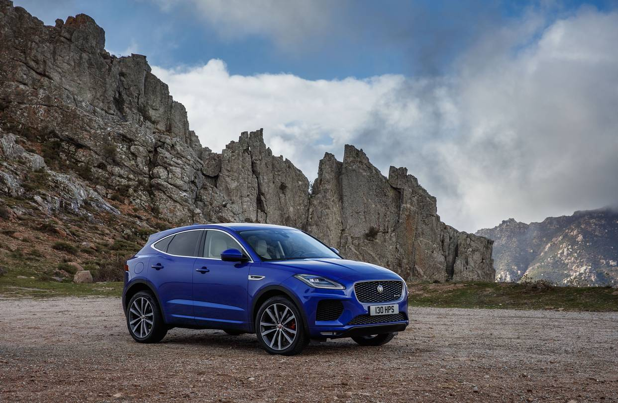 hight resolution of jaguar s girthy new e pace the brand s first compact crossover has more in common with its land rover cousins than the brand s sleek roadsters