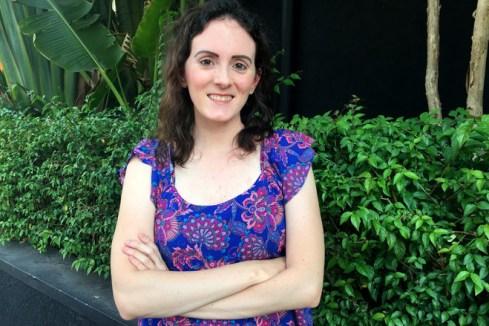 Alessandra Oliva, 31, a Brazilian mother who chose a U.S. sperm donor.