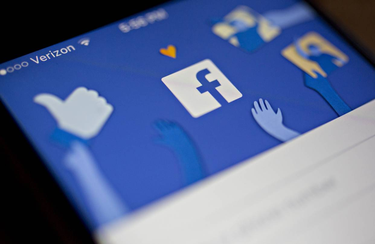plunge in facebook stock