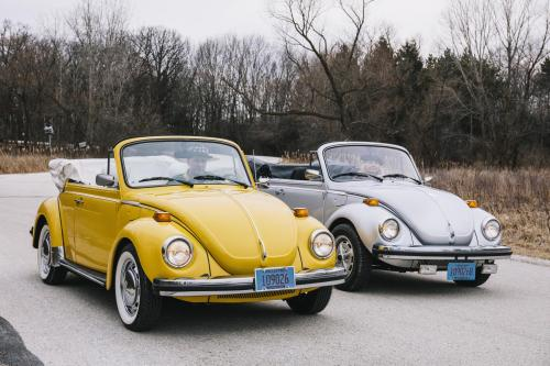 small resolution of the jaecks with their 1978 and 1979 beetle convertibles