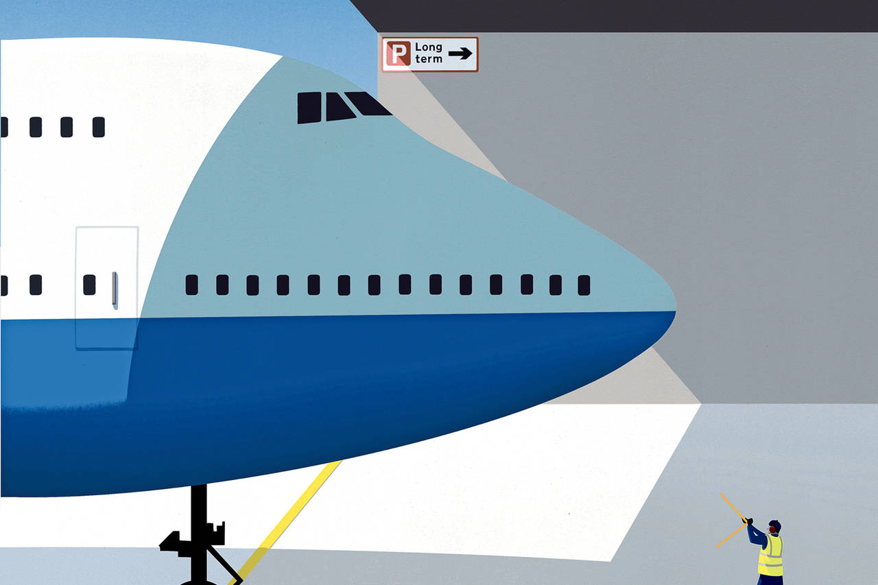 the last 747 airlines