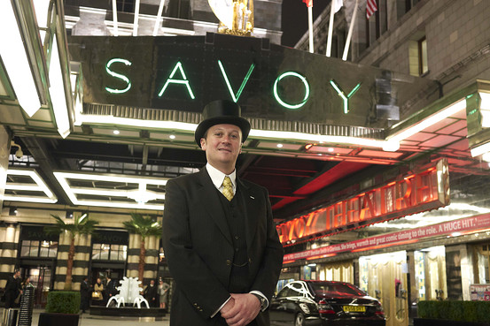 Jean Cazals for The Wall Street Journal. A doorman at the Savoy  sc 1 st  My View From Las Vegas - WordPress.com & Savoy Hotel | My View From Las Vegas