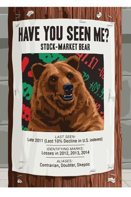 stock market bears turn