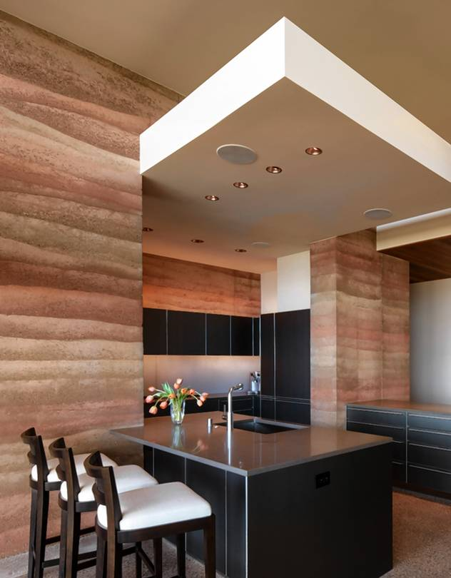 RammedEarth Luxury Homes  WSJ
