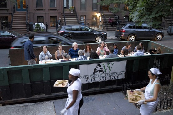 Dining From Trash to Table in Brooklyn  WSJ