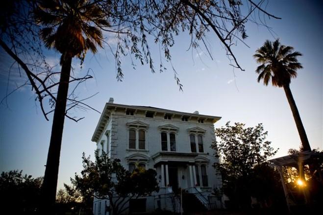 Snowball Mansion in Sacramento, California