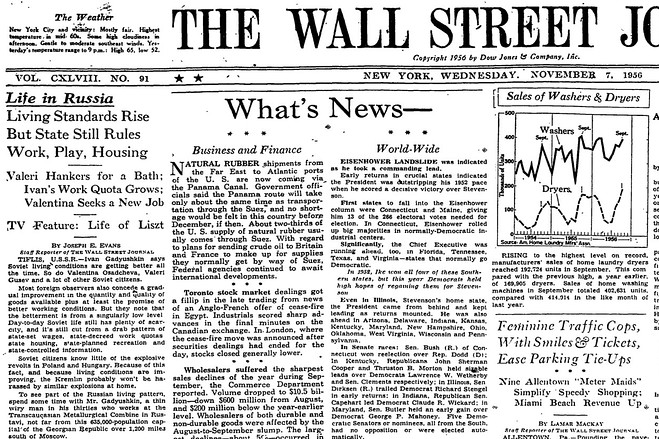 Image result for 1996 wall street journal