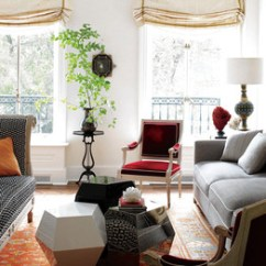 Small Living Room With No Coffee Table Hollywood Regency Furniture A Cluster Of Tables Better Than One Wsj Mod Squad In The Manhattan Home Hairstylist Frederic Fekkai And His Wife Shirin