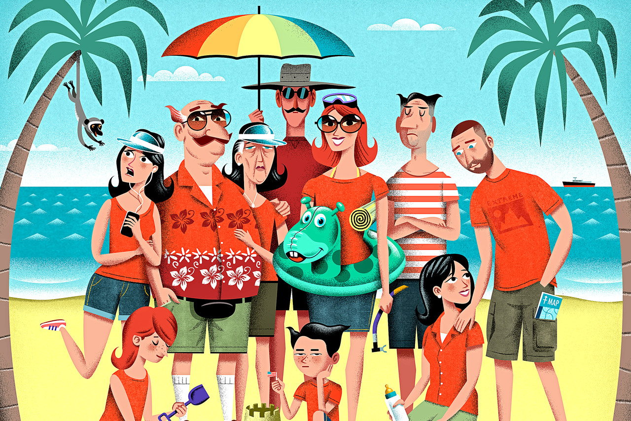 The Multigenerational Family Vacation Wsj