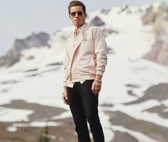 High Fashion Shaun White Here On Mount Hood In Oregon Seeks Out Unique