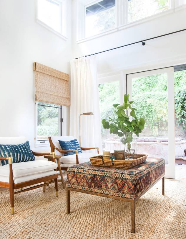 chairs and ottomans upholstered leopard print bean bag chair a sofa with carpet way chicer than it sounds wsj