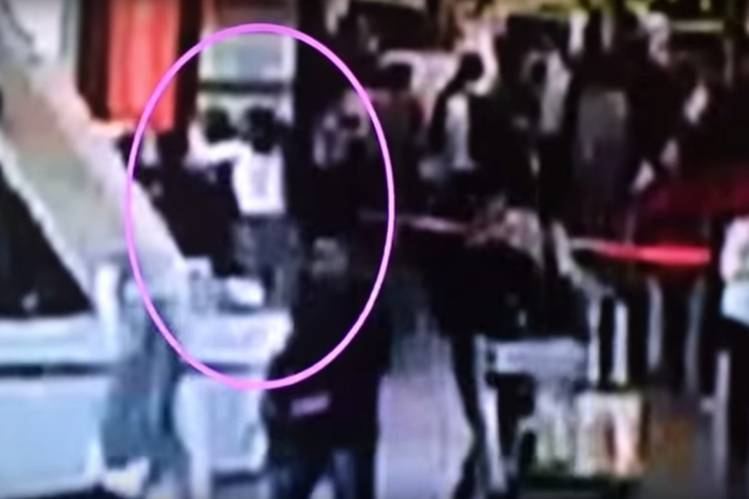 CCTV footage purports to show the deadly attack on Kim Jong Nam last week at Kuala Lumpur's international airport.
