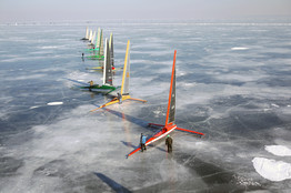 The Need For Speed Usually Leaves Ice Boaters Frozen In Their Tracks WSJ