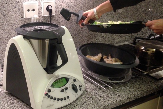 bimby kitchen robot cabinet countertop even in straitened times portugal loves its cooking robots wsj