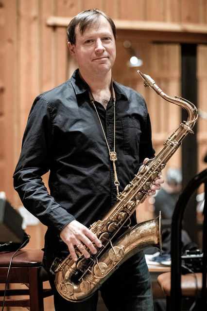 Saxophonist Chris Potter.