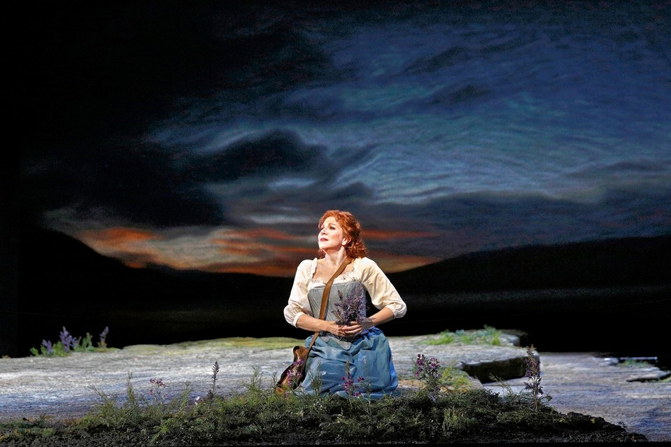 Joyce DiDonato as Elena in Rossini's 'La Donna del Lago.'