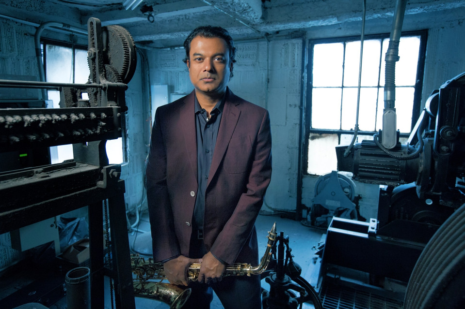 Saxophonist Rudresh Mahanthappa's most recent album is 'Bird Calls.'