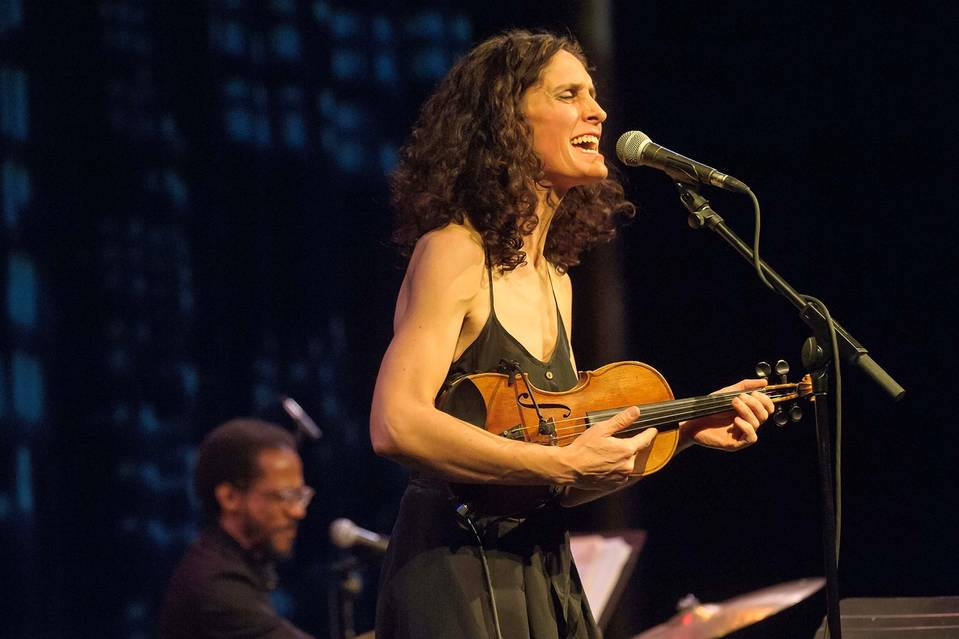Jenny Scheinman performing in Washington this February.