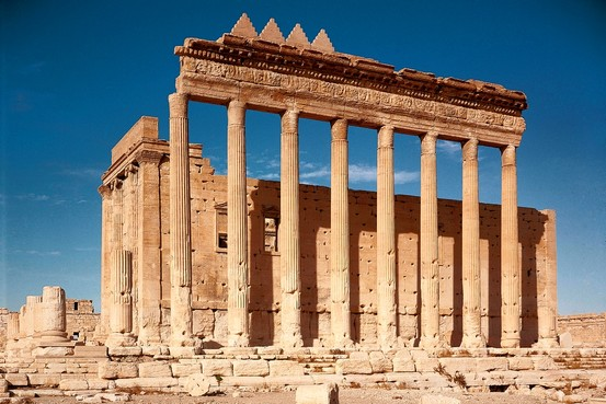 Temple of the Bride of the Desert  Masterpiece by Christian C Sahner  WSJ