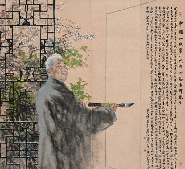 文藝范沉醉在三足鼎立的繪畫世界——當代著名國畫家王福元先生國畫作品欣賞 - 每日頭條
