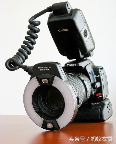 不花一分錢用現有道具做環形閃光燈。微距攝影效果槓槓的 - 每日頭條