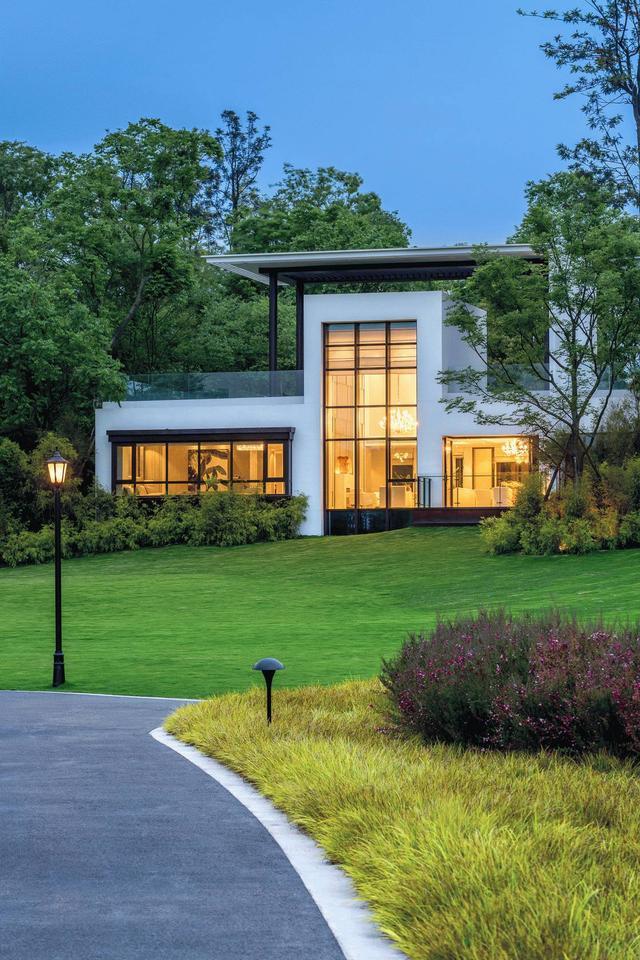 現代簡約風獨棟別墅,尋找世外桃園的美 - 每日頭條