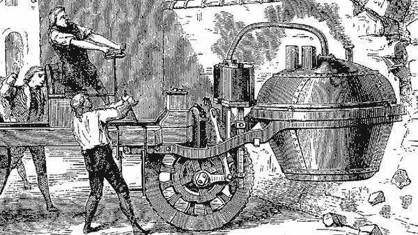 汽車歷史觀(一):蒸汽機車發明與演進 - 每日頭條