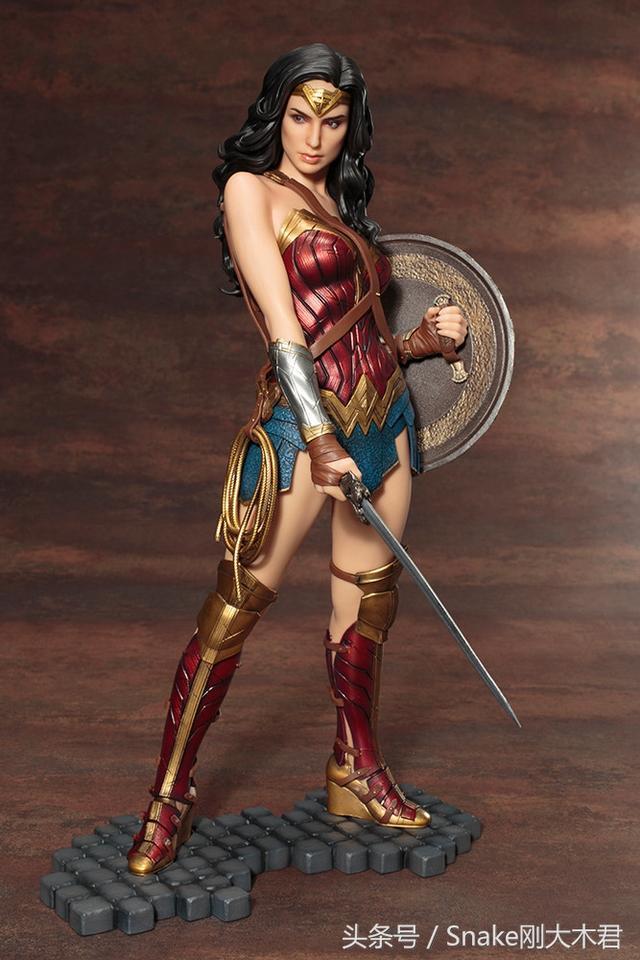 女神降臨,壽屋ARTFX神力女超人 1/6 比例全身雕像作品 - 每日頭條